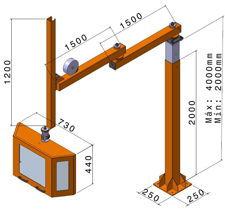 proteccion gama alta fresadora 6010 tg 2