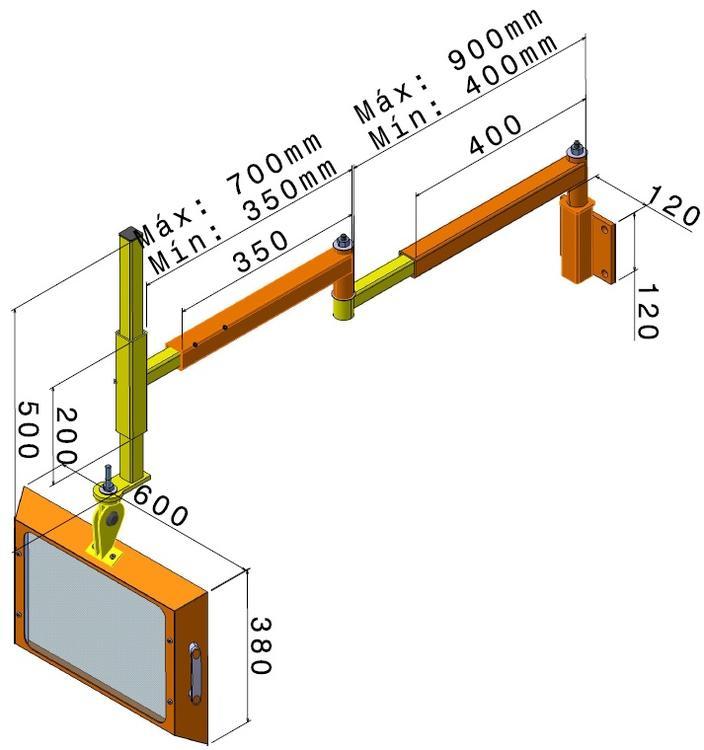 proteccion gama alta para taladro radial 4010 pc2